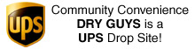 Community Convenience: Dry Guys is a UPS Drop Site!